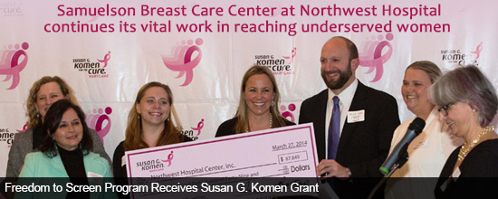 Samuelson Breast Care Center at Northwest Continues Vital Outreach Work