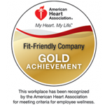 2014 Fit-Friendly Company Gold Achievement